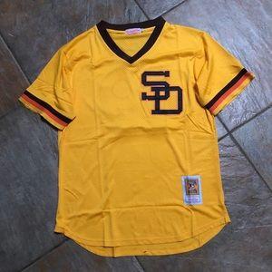 Tony Gwynn San Diego Padres BP MLB Jersey Large